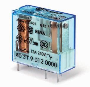 FINDER芬德40系列插入式PCB继电器