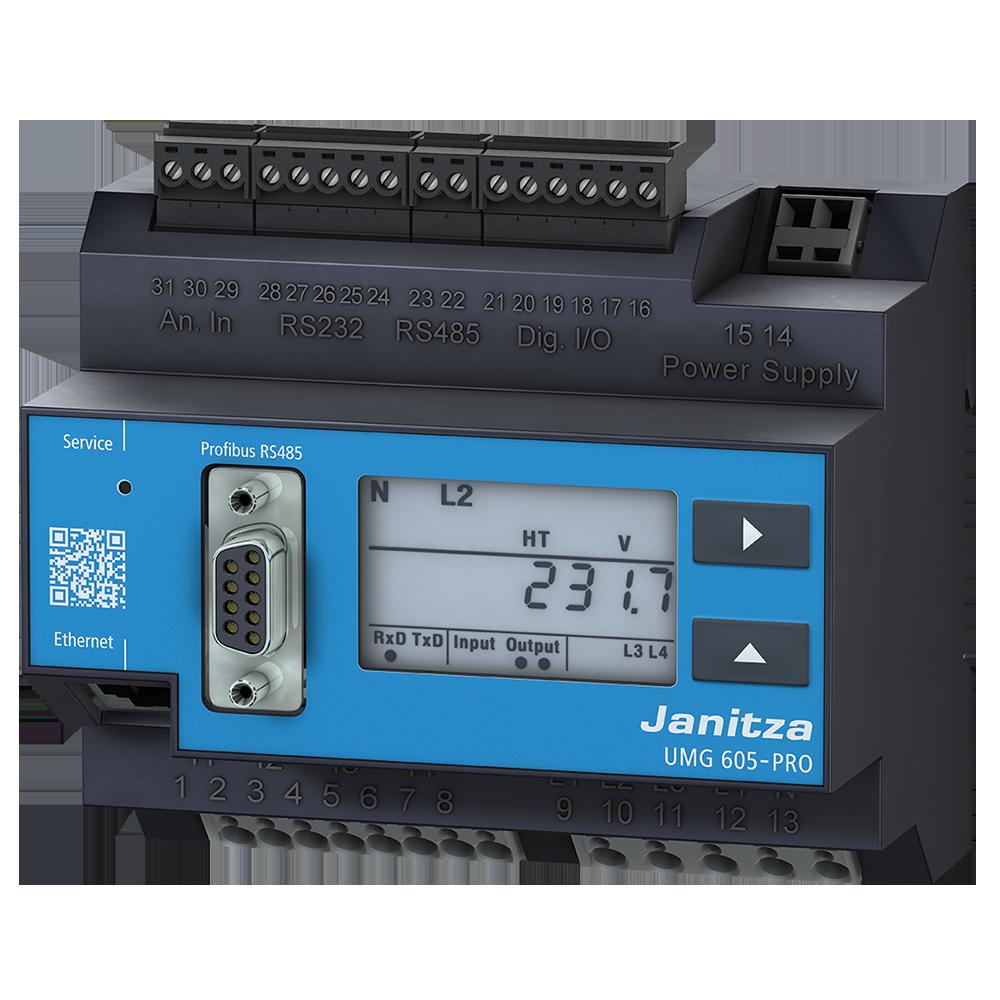 UMG509-PRO多功能电能质量分析仪