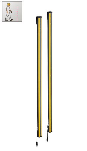 SICK西克deTem4基本型光束安全光栅